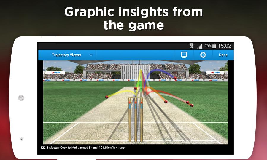 Free download cricket live score application