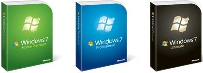 Windows7 packaging new clean design attractive
