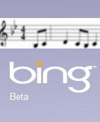 bingtone suggestive logo for bing ringtones from Microsoft by Digitizor