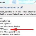 How to install a FTP server in Windows 7?