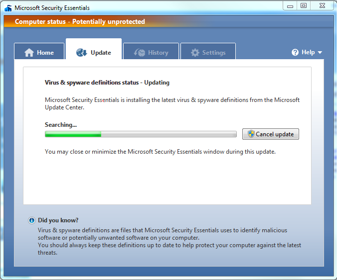 morro-windows-security-essentials-screenshot