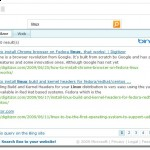 Bing tip: How to put a Bing search box on your website?
