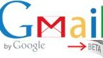 How to put the beta sticker back on the Gmail logo?