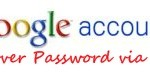 GMail tip: Recover your lost password using your mobile phone (Google Account)
