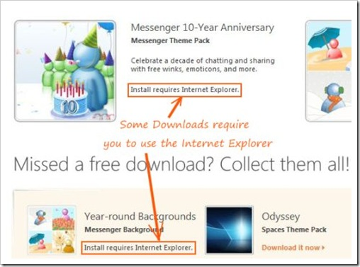 windows live freebie download