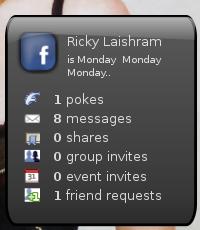 Facebook Screenlet