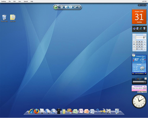 6 Apple Macintosh Mac OS Themes - Windows 8 & Windows 7