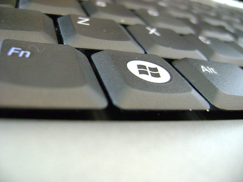 Windows Key on your keyboard