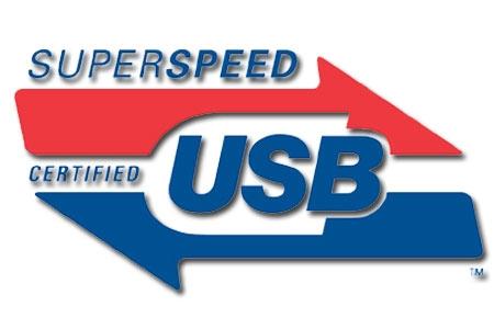 """USB 3.0 """"SUPERSPEED"""""""