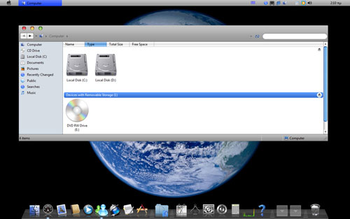 mac os theme for windows 8.1 free download
