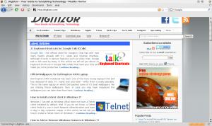 KDE4+Firefox3 Theme