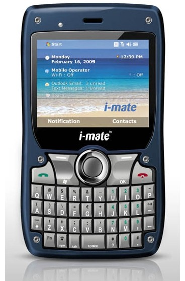 i-mate 810f : the last smartphone made by the company, relesed earlier this year.