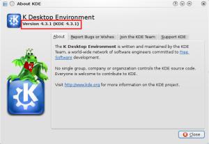 I have KDE version 4.3.1