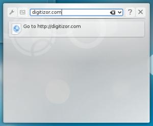 You can also enter URL