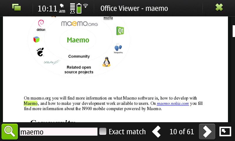maemo5koffice
