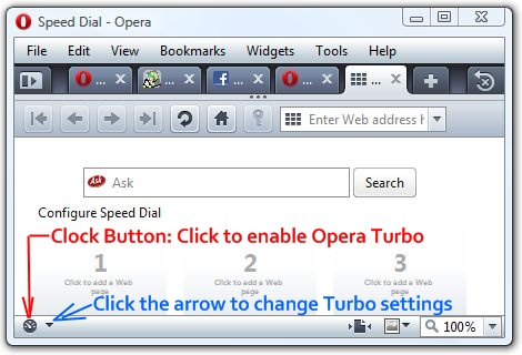 How to browse the web 8 times faster using Opera Browser?
