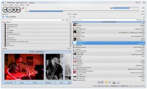 "Amarok 2.2 ""Sunjammer"" (image courtesy Amarok Blog)"