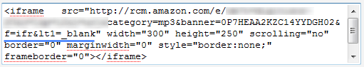 open amazon referal ad in new tab
