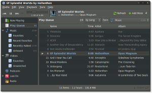 Banshee Media Player 1.5.1 (image courtesy banshee-project.org)