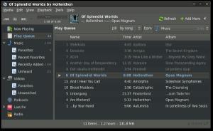 Banshee Media Player 1.5.1 (image courtesy banshee-project.org)