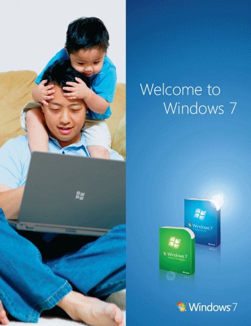 Windows 7 Official Guide Cover
