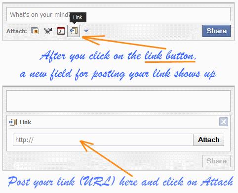 facebook share bar