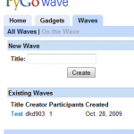 Use Google Wave without even receiving an invite from Google