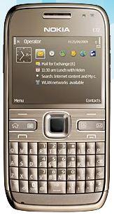 Topaz Brown - Nokia E72