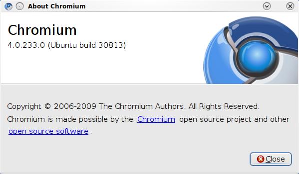 How To Install Chromium Browser in Ubuntu 9 10 Karmic Koala