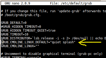 disable ipv6 during boot up from grub