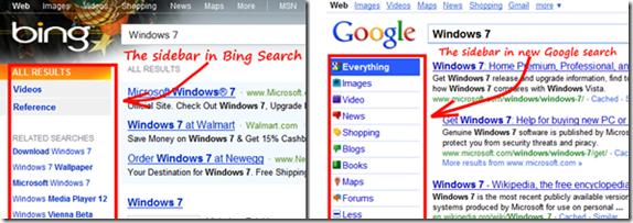 google bing sidebar