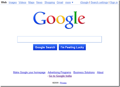 google-new-front