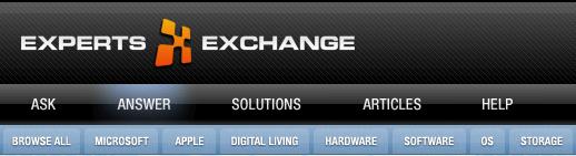 Experts Exchange Forum free account