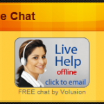 How to embed the Volusion Live Chat module on your website? [and WordPress]