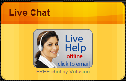 volusion live chat button