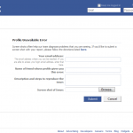 """Facebook profile temporarily unavailable"" – now What?"