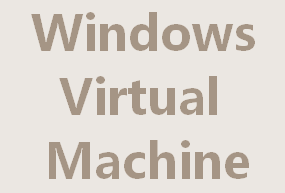 Windows Virtual Machine