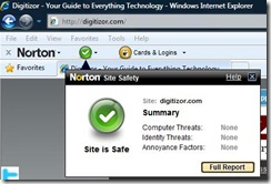 Norton Site Safety