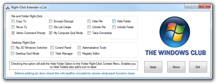 Context Menu Extender Windows 7