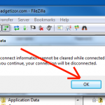 How to fix EHOSTUNREACH, EAI_NODATA & ECONNABORTED errors in Filezilla FTP Client?