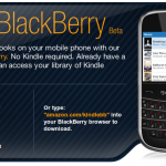 Kindle comes to BlackBerry