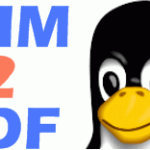 How To Convert CHM Files To PDF In Linux?