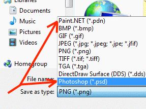 PSD In Paint.NET