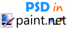 Open PSD in Paint.NET