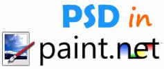 Open PSD in Paint.NET