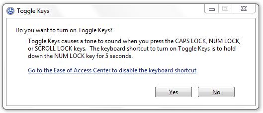 Toggle Keys On Off
