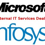Infosys To Take Care Of Microsoft's Internal IT Services