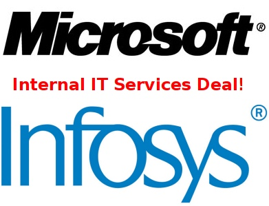 Microsoft Infosys Internal IT Deal Management