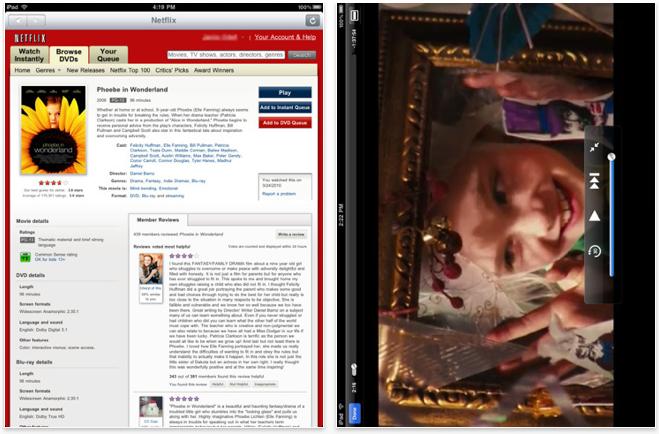 Netflix App For Apple iPad