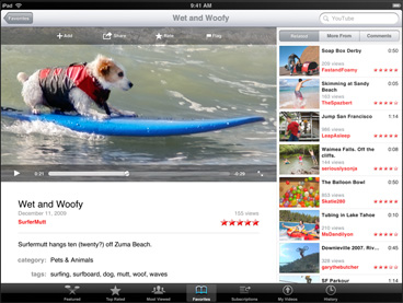 Youtube App For Apple iPad